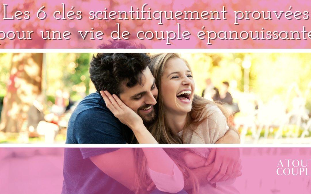 Couple heureux et épanoui