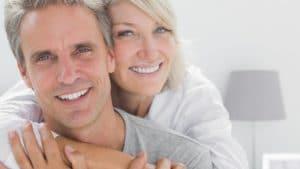 Couple mature heureux