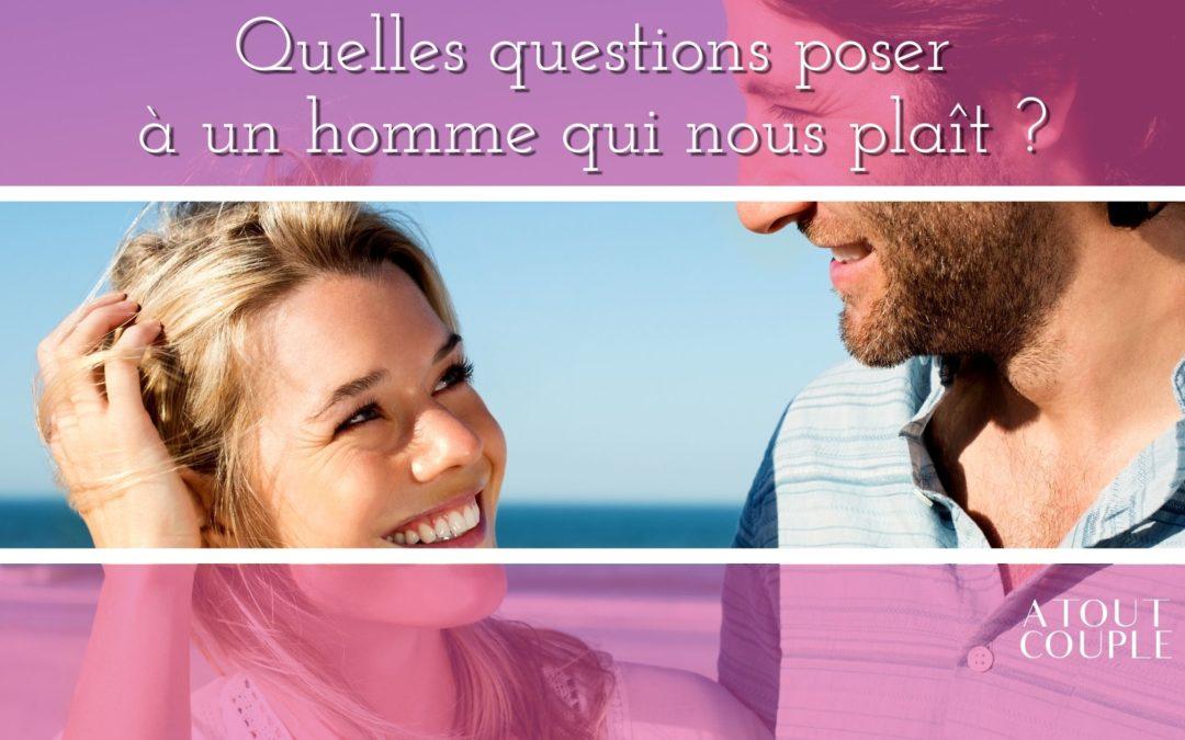 Un homme et une femme qui discutent