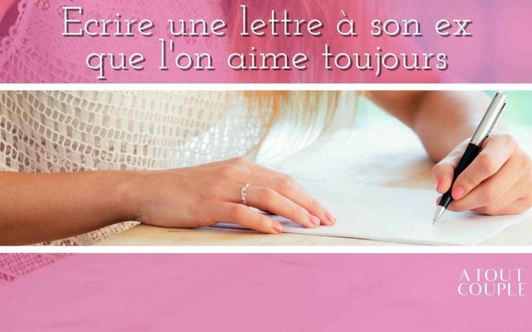 Main d'une femme écrivant une lettre