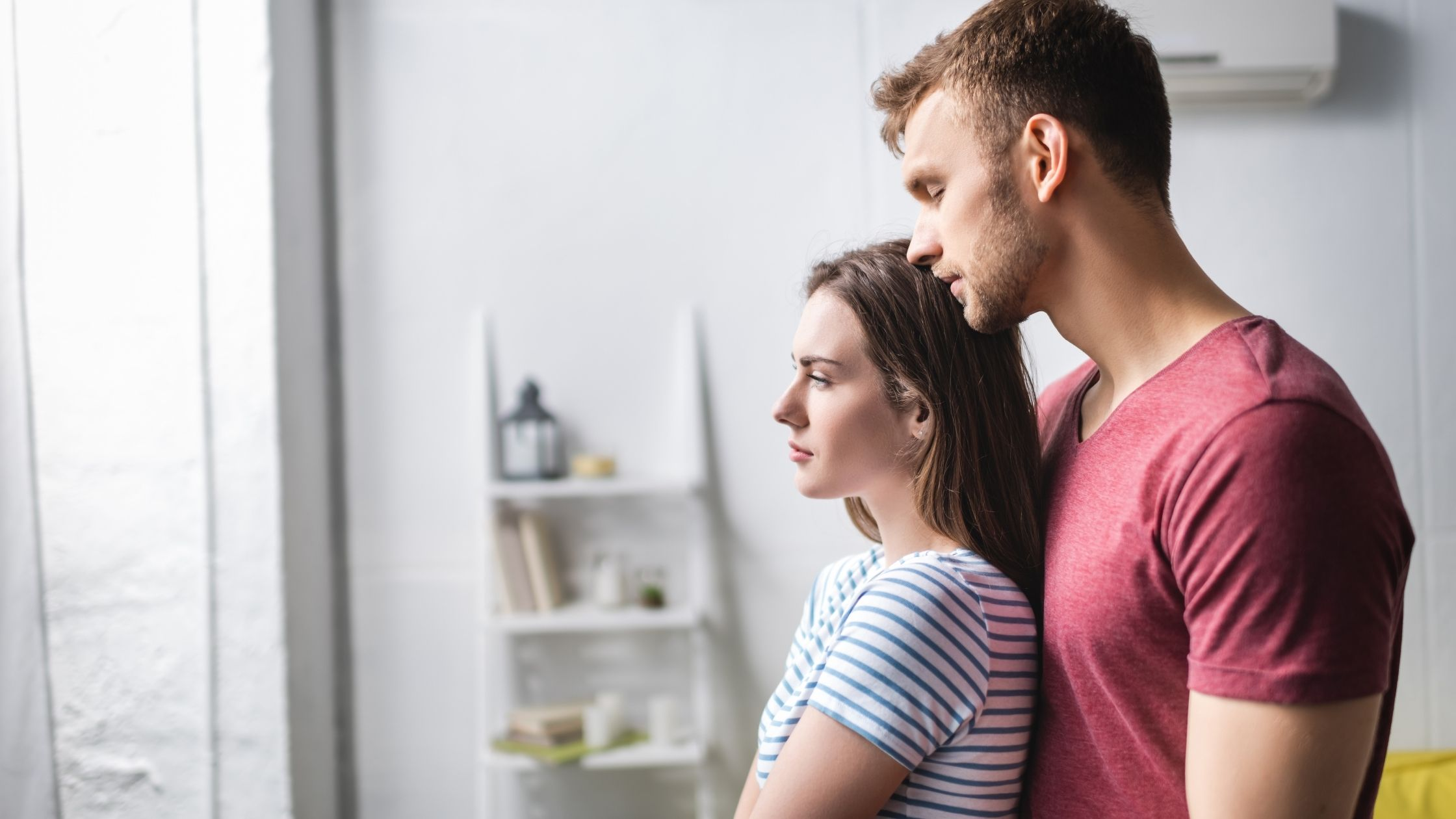 Couple qui se soutient